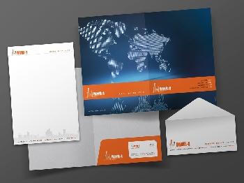 עיצוב ניירת ופולדר MHR1