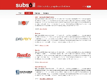 Subsoil - Oil & Gas Industry Supplies