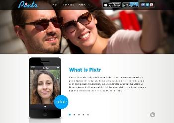 אתר אפליקציית Pixtr