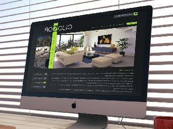 ממשק אתר פורטפוליו