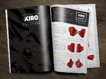 עיצוב קטלוג - Kiro Holsters